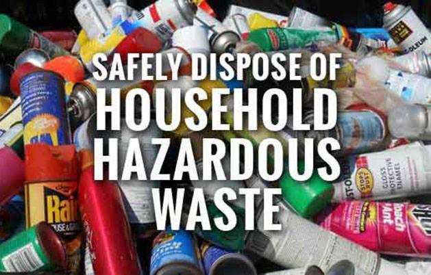 safely dispose of hazardous waster
